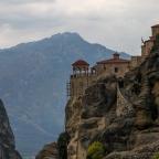 Meteora- opas 2: Upeita näkymiä ja Megalo Meteoro- luostarin kuumottava yllätys