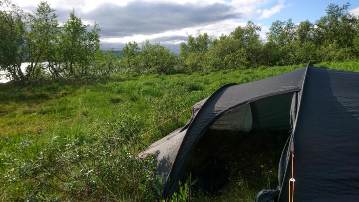 Haltin teltta Kilpisjärvellä